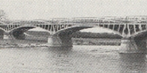 Dunham bridge in the olden days